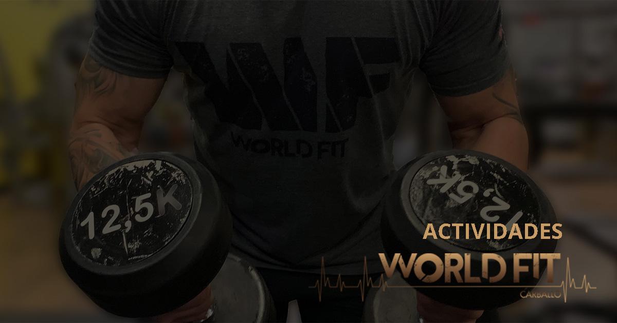 Actividades en World Fit Carballo