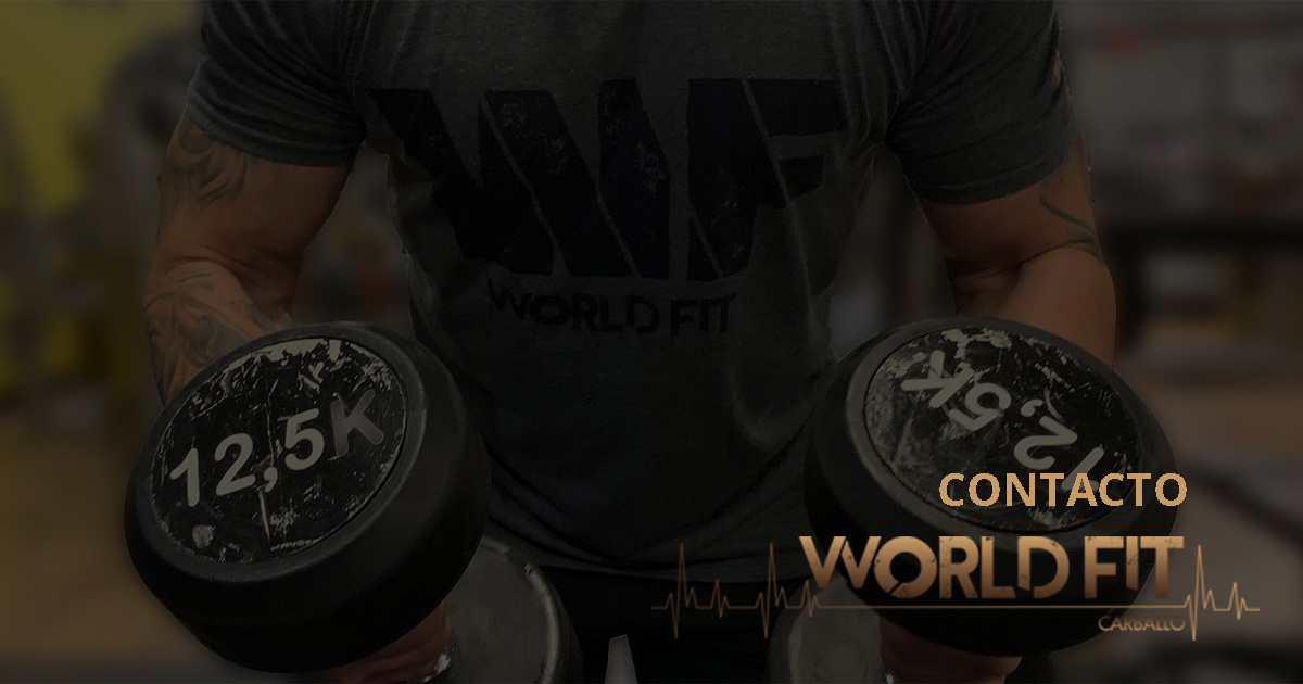 Ponte en contacto con World Fit Carballo