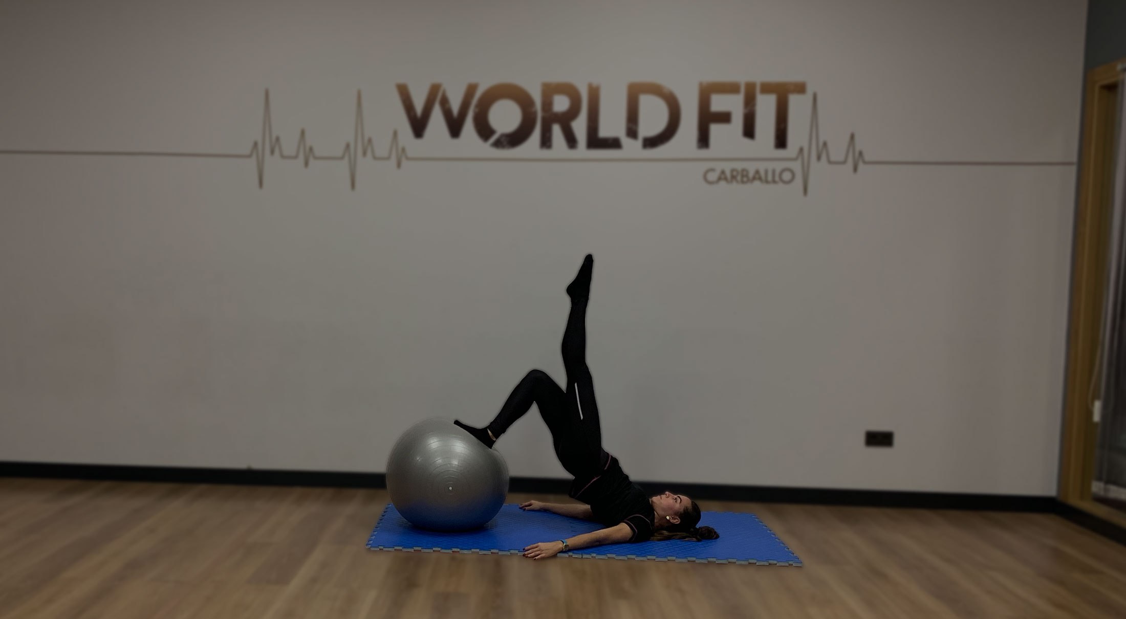 Es el momento de entrenar, ven a World Fit Carballo