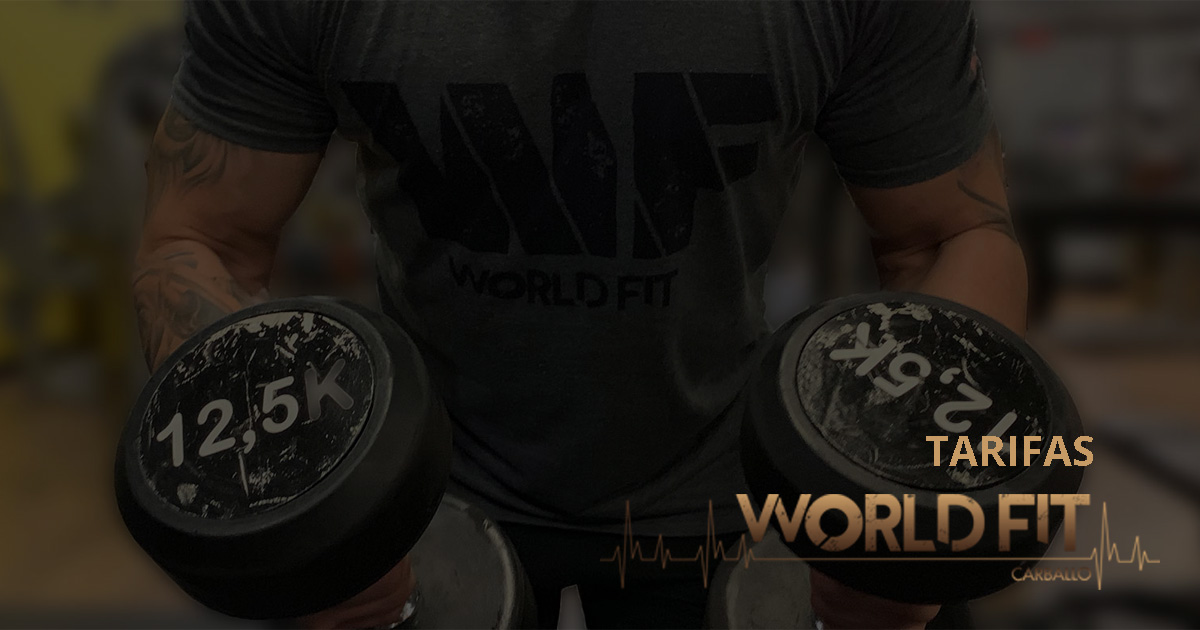 Todas las tarifas de World Fit Carballo