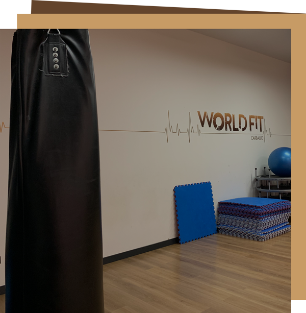 Ven a entrenar a World Fit de Carballo