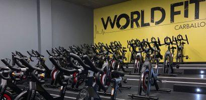Sala de world cycling de World Fit Carballo